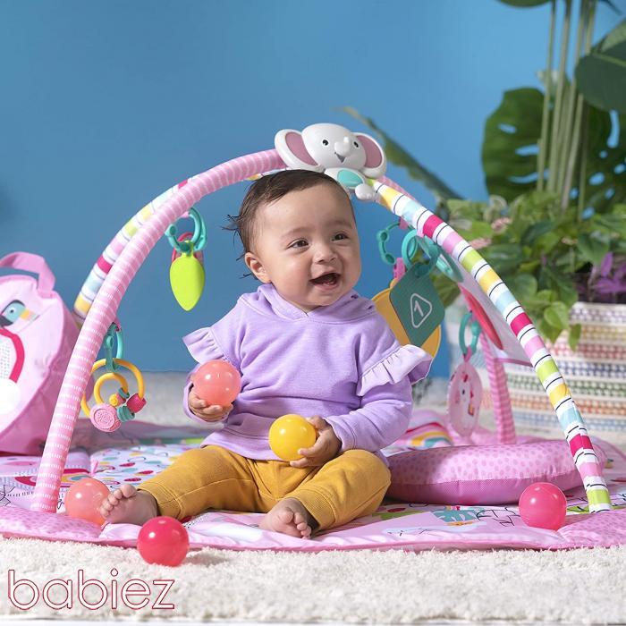 Miért és mikortól ajánlott a baba játszószőnyeg használata?